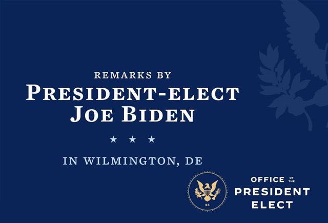 "PEF Statement on President-elect Biden's ""American Rescue Plan"""