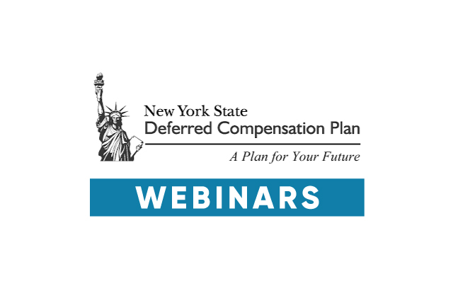 Getting retro pay?  Sign up for a deferred comp webinar