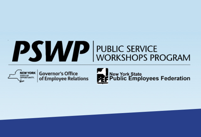 Public Service Workshops available to PEF members